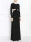 Платье-макси с вырезом на талии Michael Kors  –  Модель Верх-Низ
