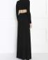 Платье-макси с вырезом на талии Michael Kors  –  Модель Верх-Низ1