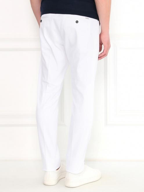 Узкие брюки из хлопка - Модель Верх-Низ1