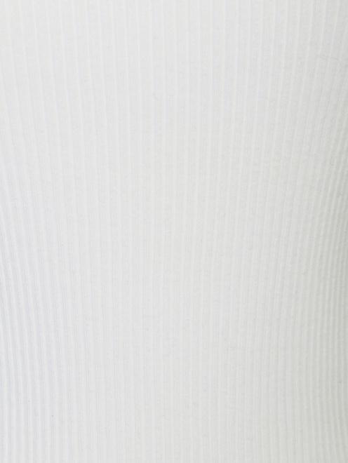 Трикотажная водолазка из хлопка с декором - Деталь1
