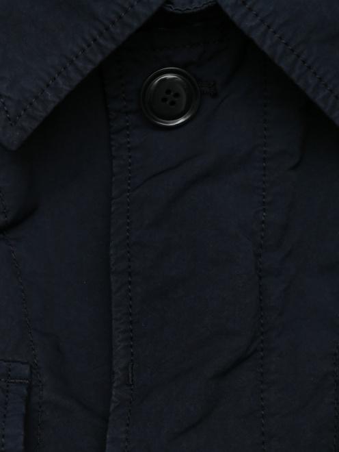 Куртка с накладными карманами - Деталь
