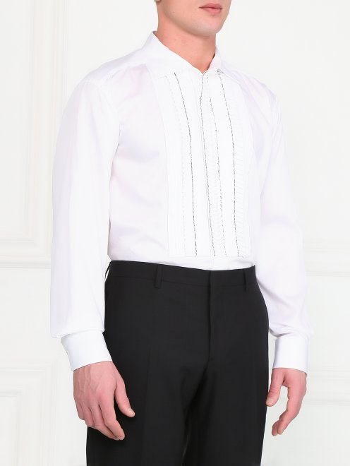 Рубашка с жабо - Модель Верх-Низ