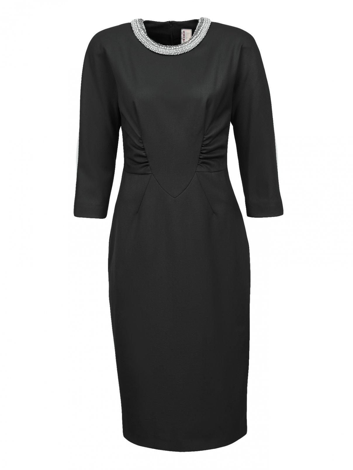 Платье-миди из шерсти с рукавами 3/4 Antonio Marras  –  Общий вид