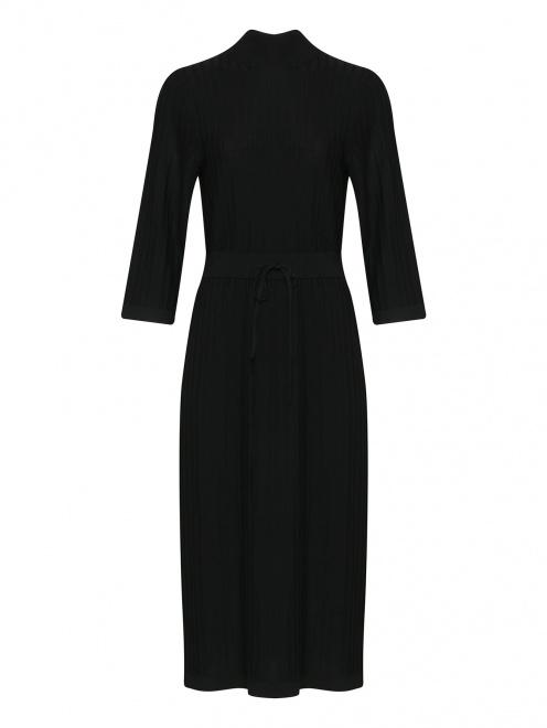 Платье трикотажное из шерсти  - Общий вид