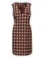 Платье-мини с узором Marina Rinaldi  –  Общий вид
