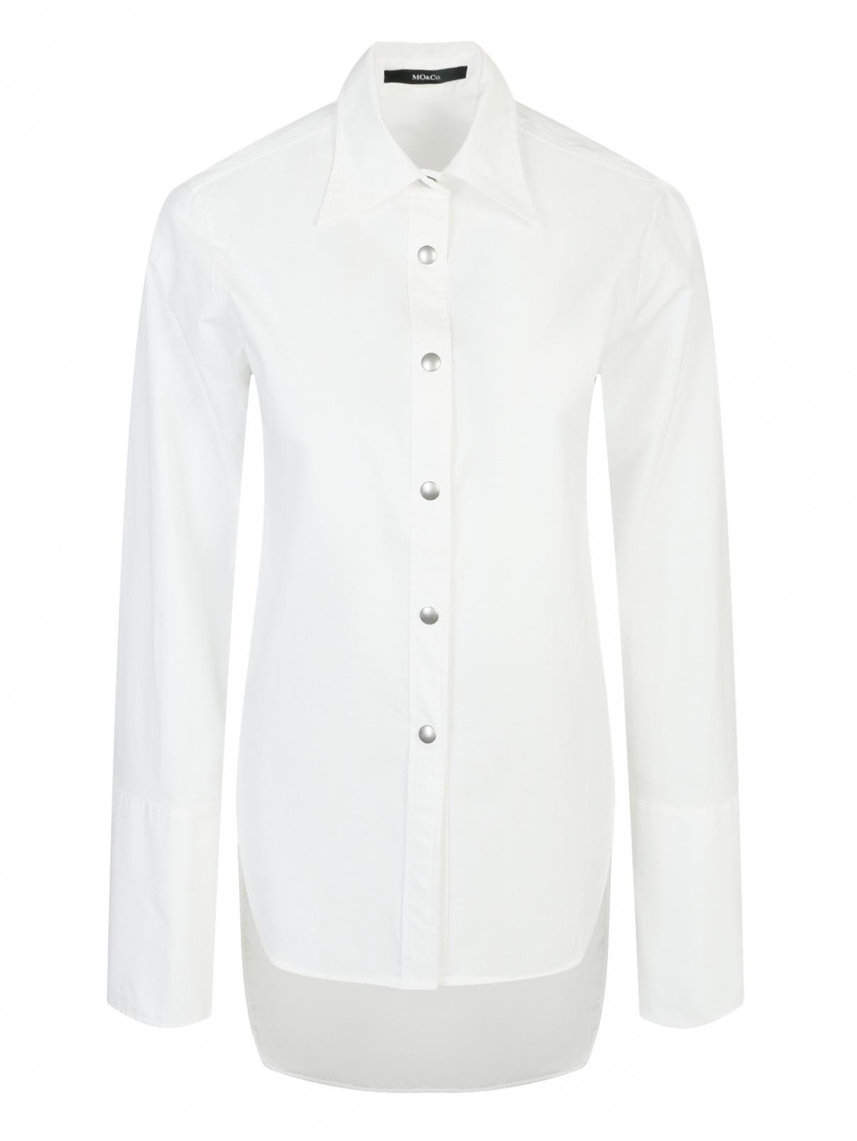 Удлиненная рубашка из хлопка Mo&Co  –  Общий вид
