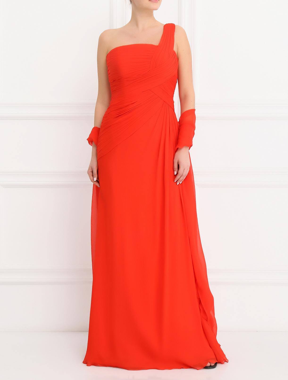 Платье-макси с драпировкой Rosa Clara  –  Модель Общий вид