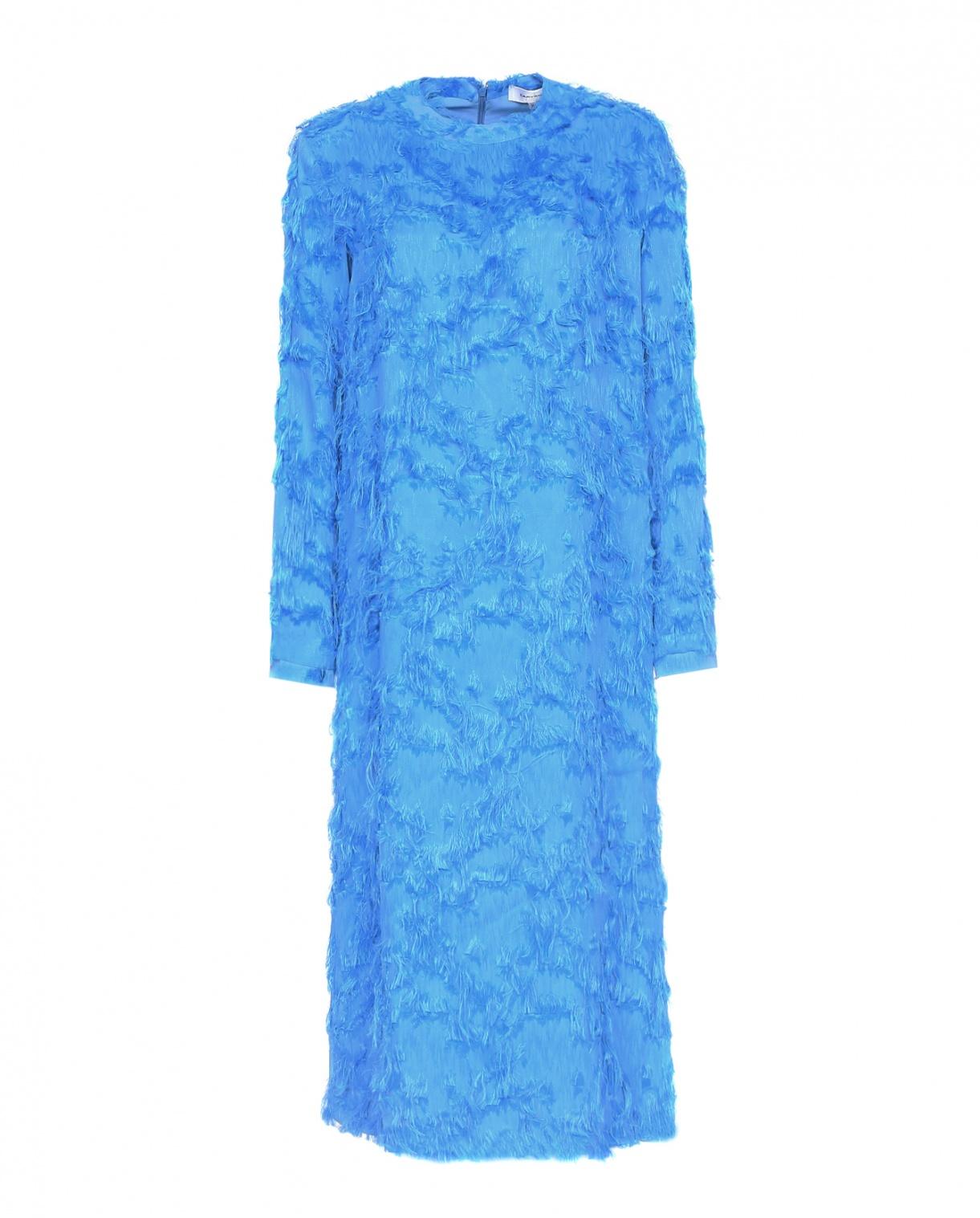 Платье-макси с бахромой Carven  –  Общий вид