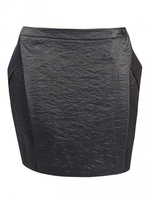 Мини-юбка архитектурного кроя - Общий вид
