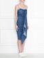Джинсовое платье на молнии Max Mara  –  МодельВерхНиз