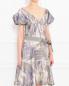 Платье-миди с узором Kenzo  –  Модель Верх-Низ