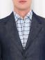 Пиджак однобортный из денима Gucci  –  Модель Общий вид1