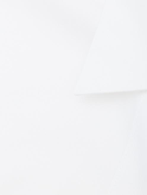 Рубашка из хлопка приталенного кроя - Деталь