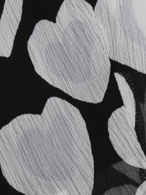 Юбка-мини с узором - Деталь