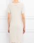 Платье из смешаной шерсти декорированное стразами Blugirl Blumarine  –  Модель Верх-Низ1