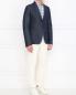 Пиджак однобортный из денима Gucci  –  Модель Общий вид