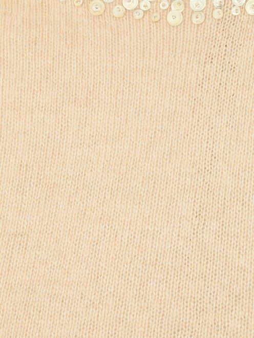 Джемпер из шерсти и кашемира с аппликацией - Деталь1