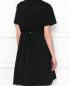 Платье свободного кроя с короткими рукавами Moncler  –  МодельВерхНиз1