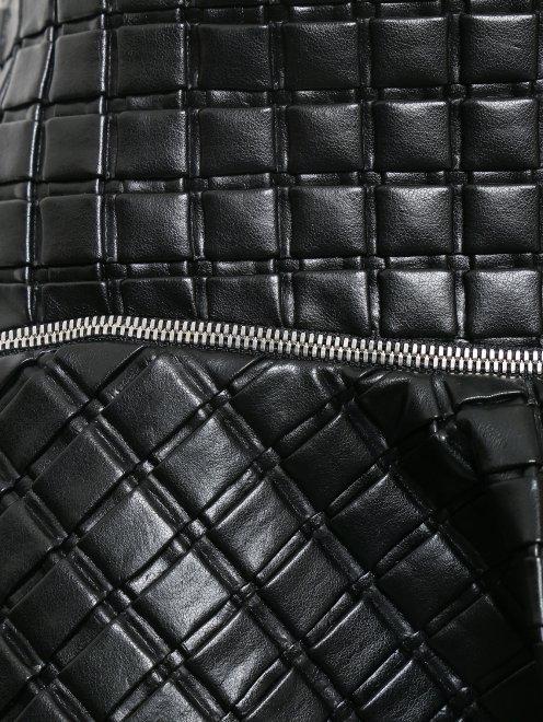Юбка-мини с декоративной молнией - Деталь