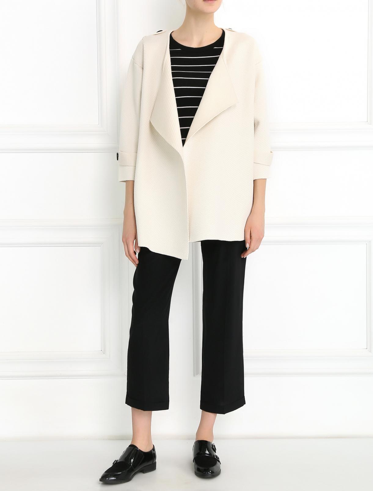 Широкие брюки из шелка Aspesi  –  Модель Общий вид