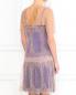 Платье из шелкового кружева с контрастной подкладкой Alberta Ferretti  –  Модель Верх-Низ1