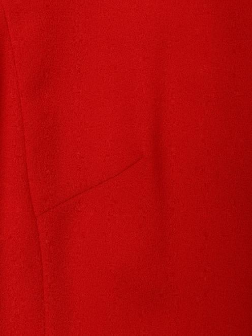 Платье А-силуэта из шерсти - Деталь1