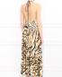 Платье-миди с узором и вырезом на спине Mariella Burani  –  Модель Верх-Низ1