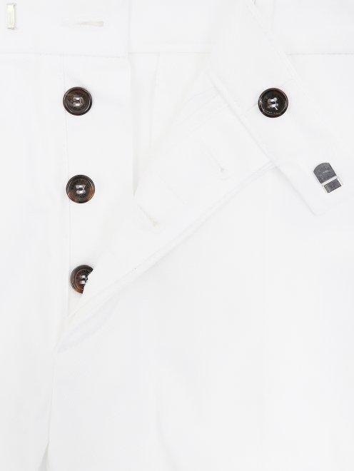 Узкие брюки из хлопка - Деталь1
