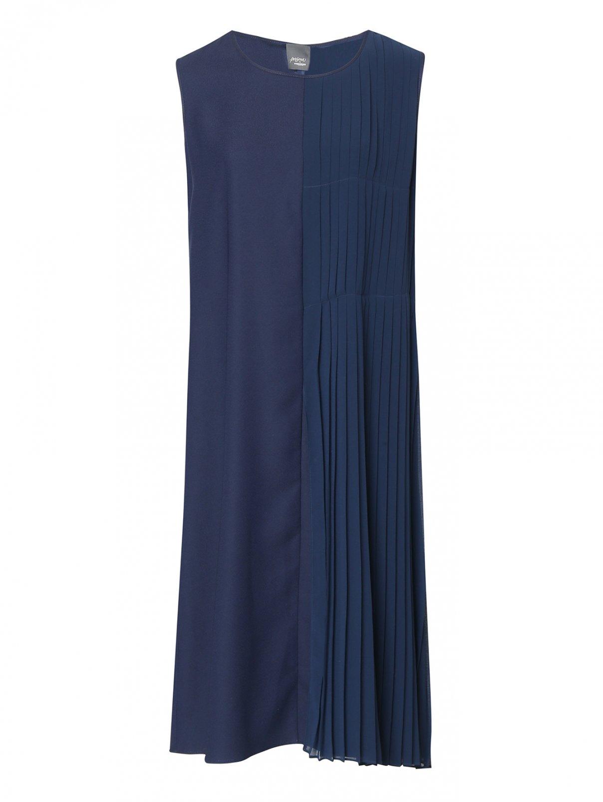 Платье с плиссированной вставкой Persona by Marina Rinaldi  –  Общий вид