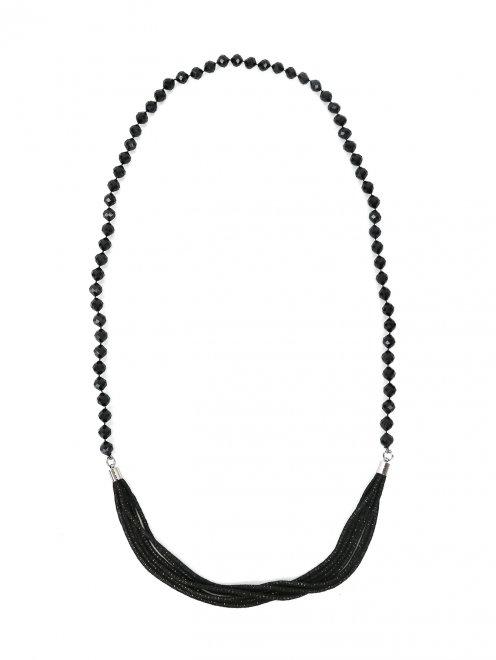 Ожерелье из пластика и металла - Общий вид