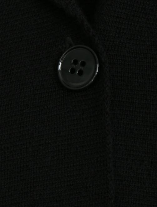 Кардиган из шерсти на пуговицах - Деталь