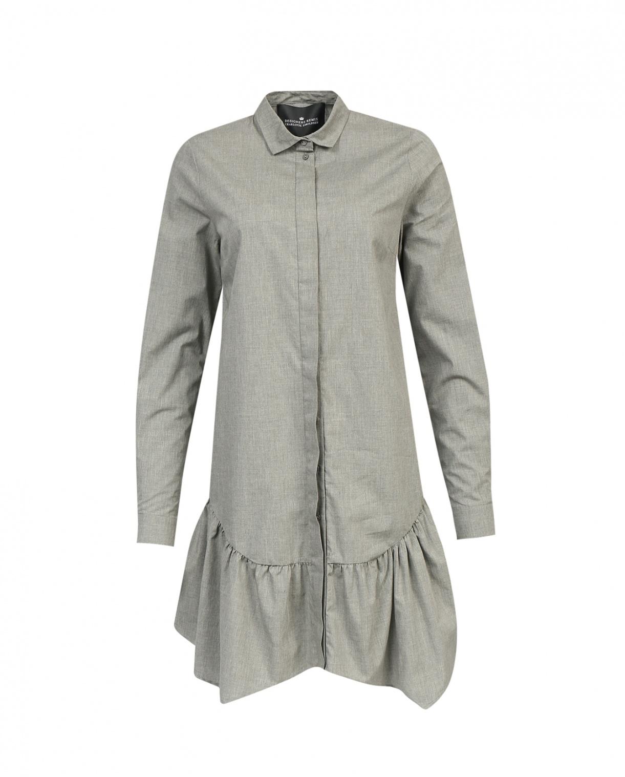 Платье-блуза из хлопка DESIGNERS REMIX  –  Общий вид