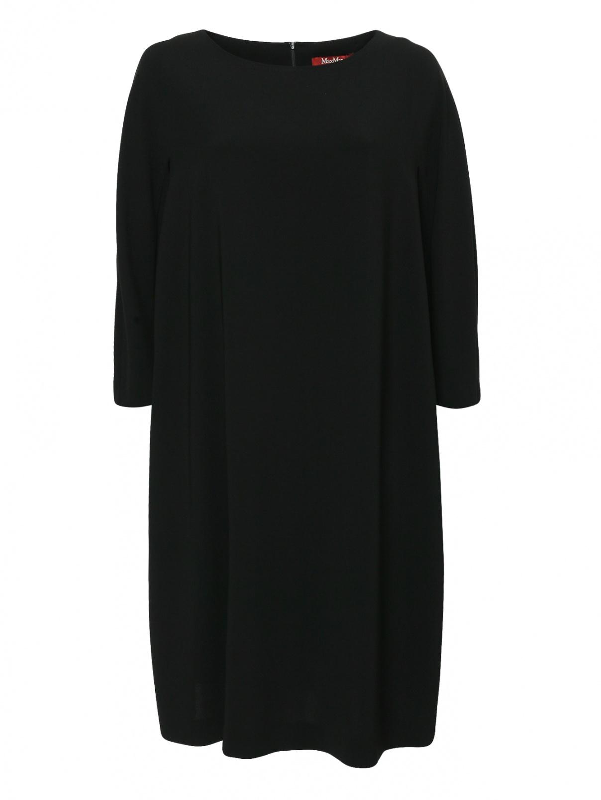 Платье свободного кроя с карманами Max Mara  –  Общий вид