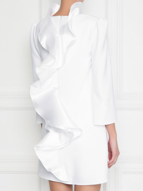 Платье-мини с декором - МодельВерхНиз1