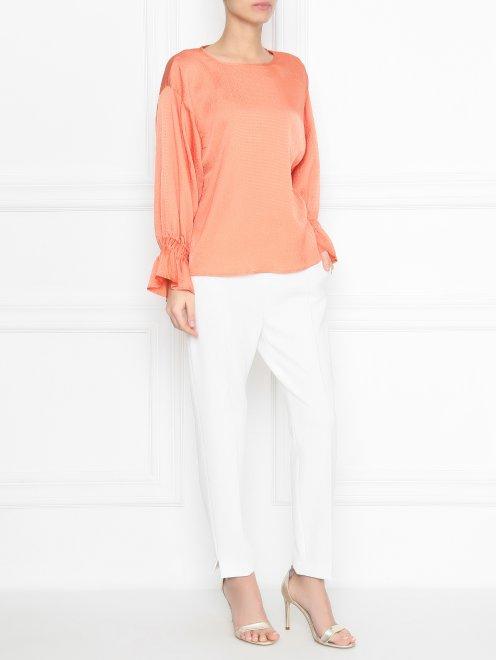 Блуза свободного кроя - Общий вид