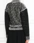 Кардиган из шерсти и кашемира с кружевными вставками Jean Paul Gaultier  –  Модель Верх-Низ1