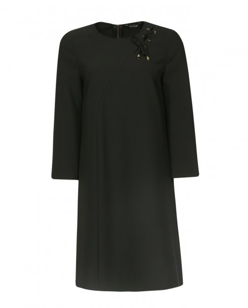 Платье прямого кроя с рукавом 3/4 - Общий вид