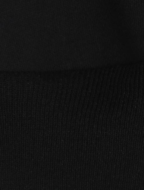 Платье трикотажное с принтом - Деталь