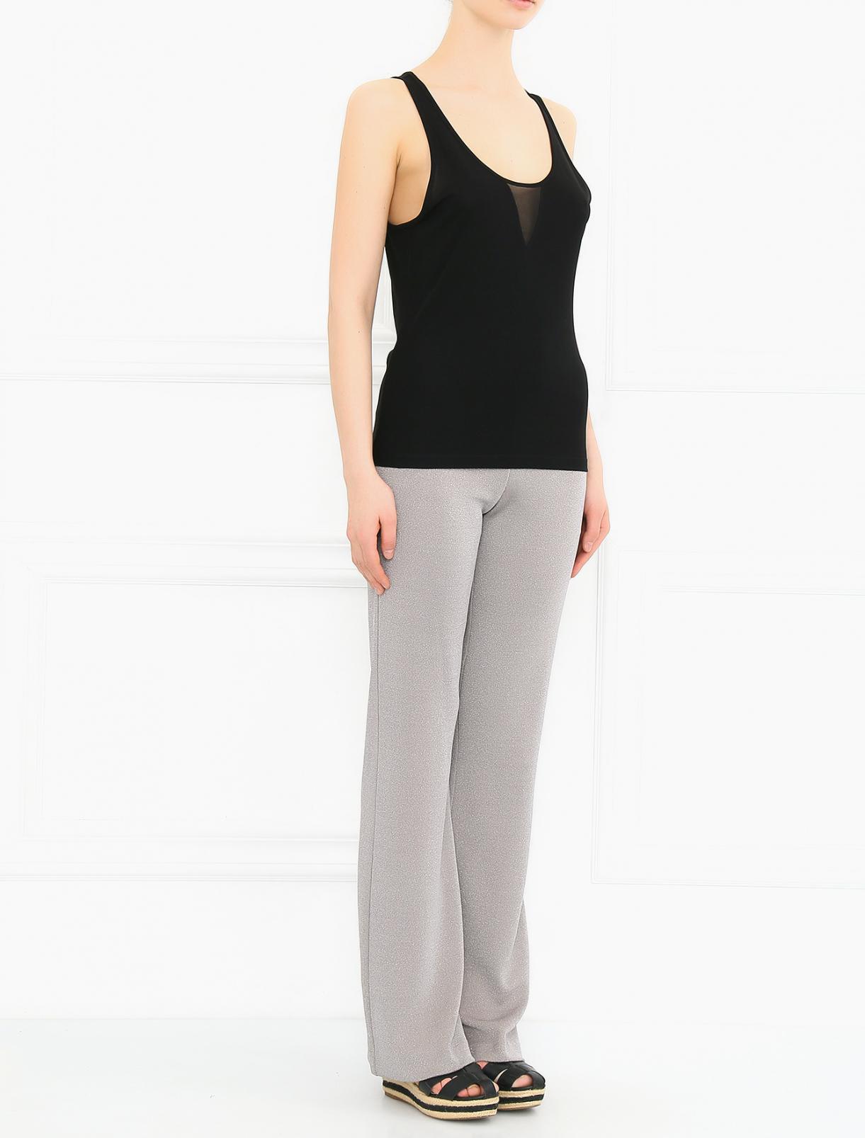 Трикотажные брюки свободного кроя ICEBERG  –  Модель Общий вид