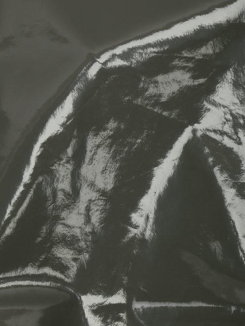 Боди лаковое на молнии  - Деталь1