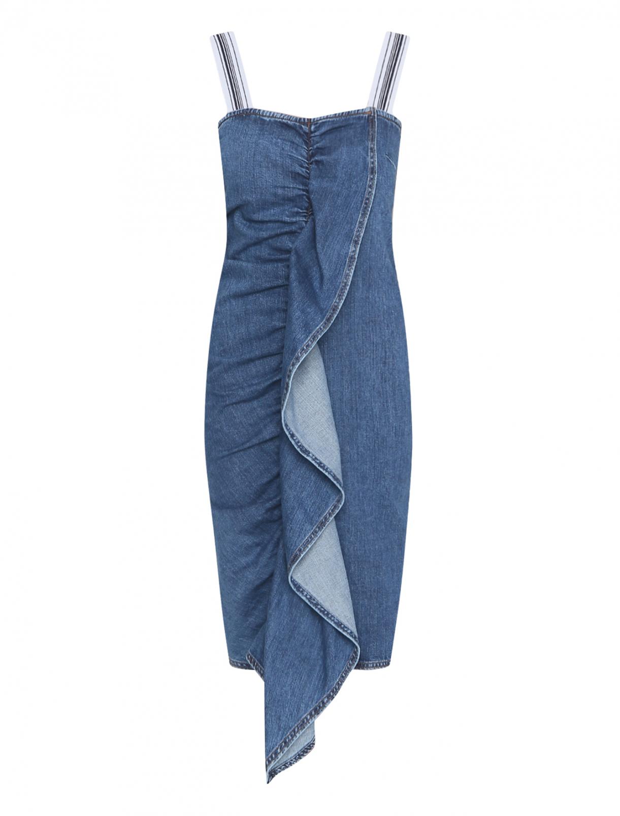 Джинсовое платье на молнии Max Mara  –  Общий вид